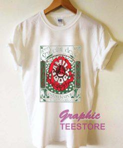 Grateful Family Dog Graphic Tee Shirts