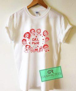 Grl Pwr Art Graphic Tees Shirts