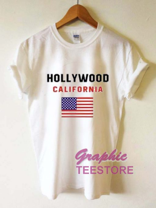Hollywood California Graphic Tee Shirts