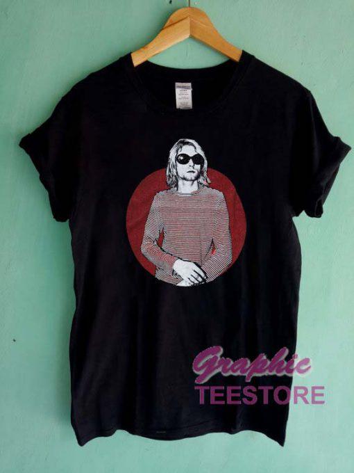 Kurt Cobain Art Graphic Tee Shirts