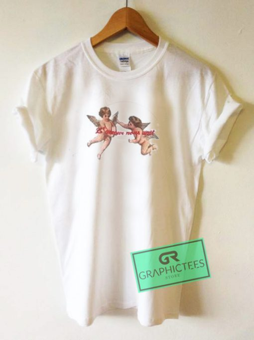 L Amour Nous Unit Baby Angel Graphic Tees Shirts