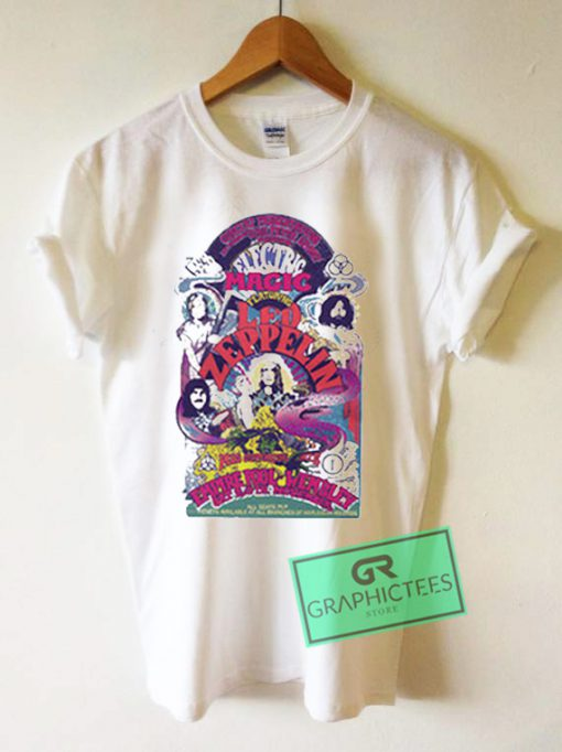 Led Zeppelin Art Graphic Tees Shirts