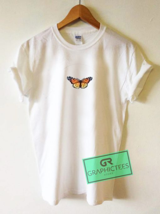 Little Butterfly Graphic Tees Shirts