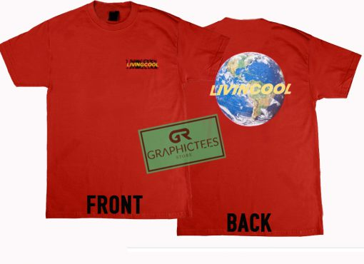 Livin Cool Graphic Tees Shirts