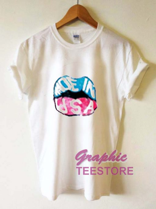 Made In USA Graphic Tee Shirts