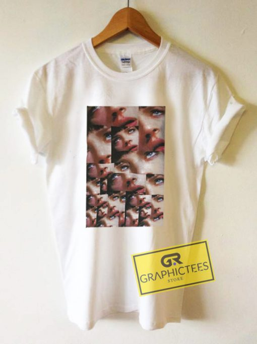 Mia Wallace From Pulp Fiction Collage Graphic Tees Shirts