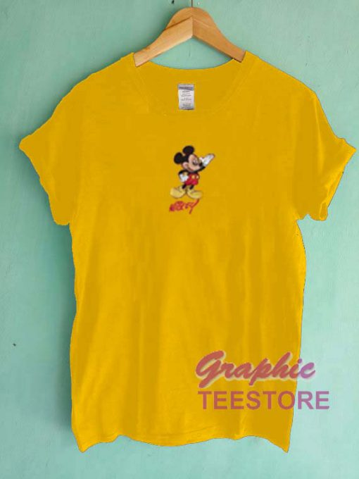 Mickey Mouse Vintage Graphic Tee Shirts