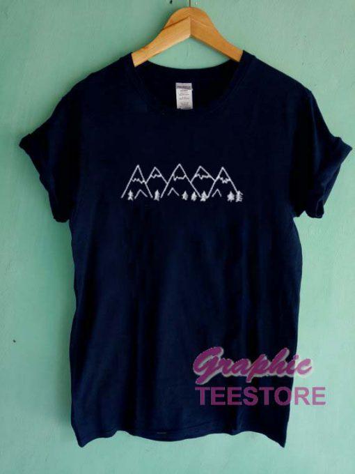 Mountain Graphic Tee Shirts