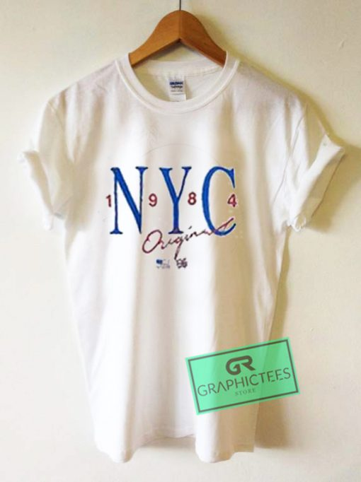 NYC 1984 Original Graphic Tees Shirts