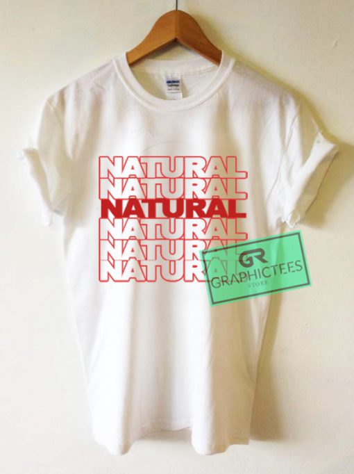 Natural Graphic Tees Shirts