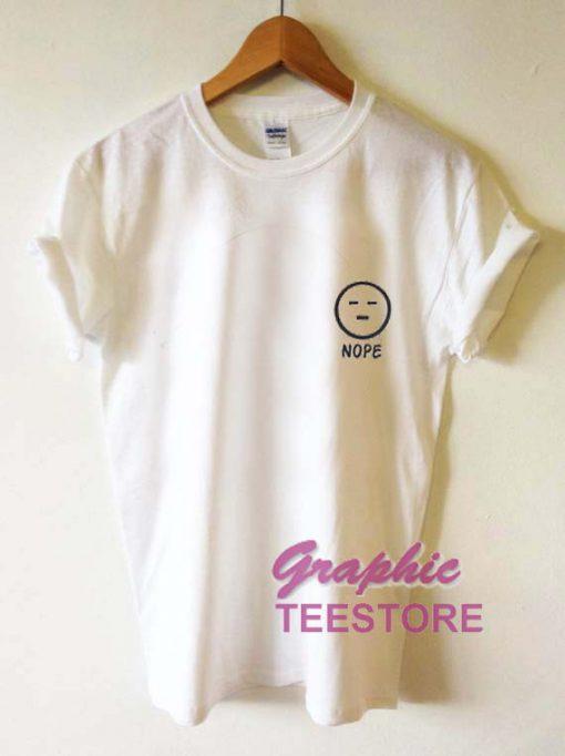 Nope Graphic Tees Shirts