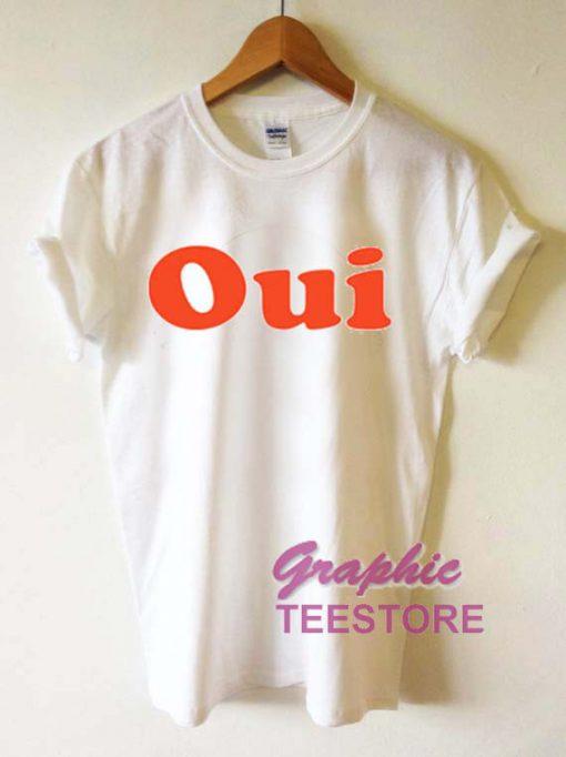 Oui Graphic Tee Shirts