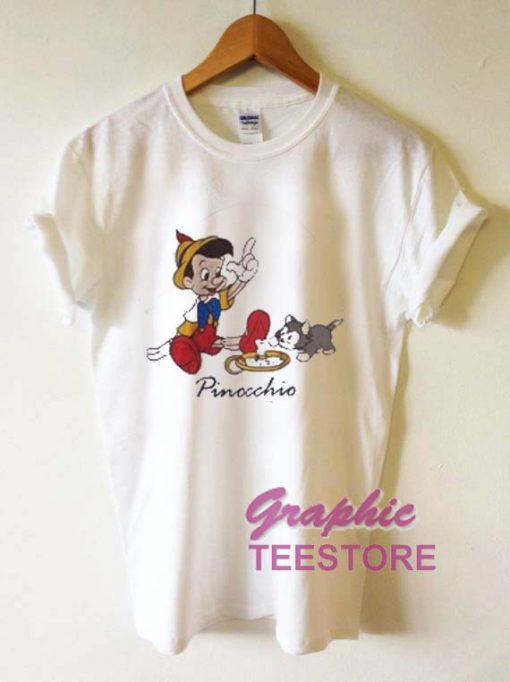 Pinocchio Graphic Tee Shirts