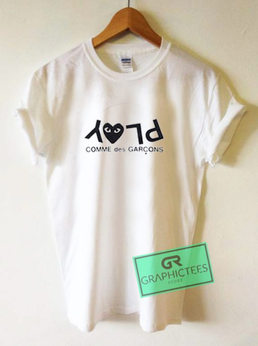 Play Comme Des Garcons Graphic Tees Shirts