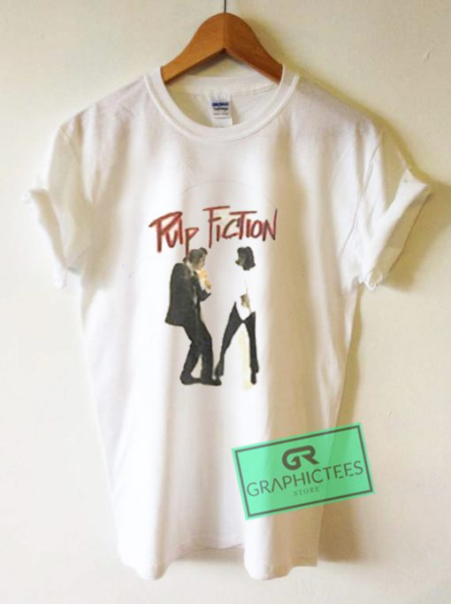 Pulp Fiction Vintage Graphic Tees Shirts