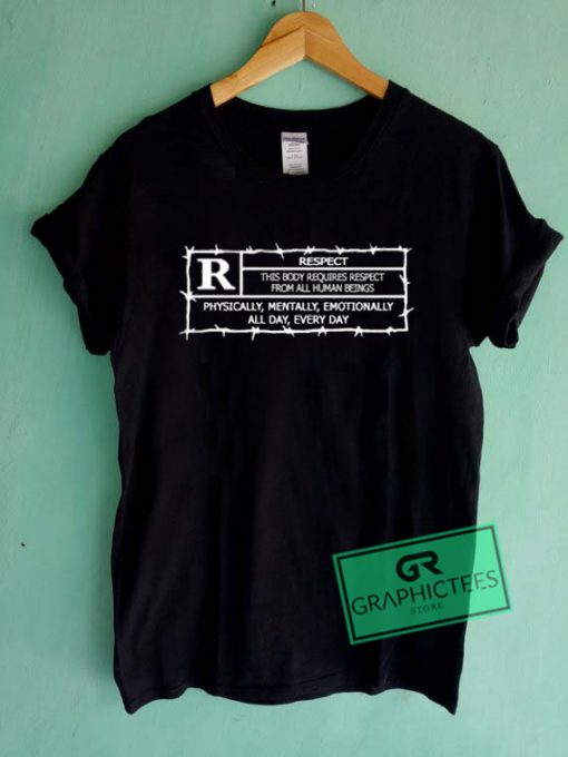 Respect Graphic Tees Shirts