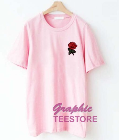 Rose Flower Graphic Tee Shirts