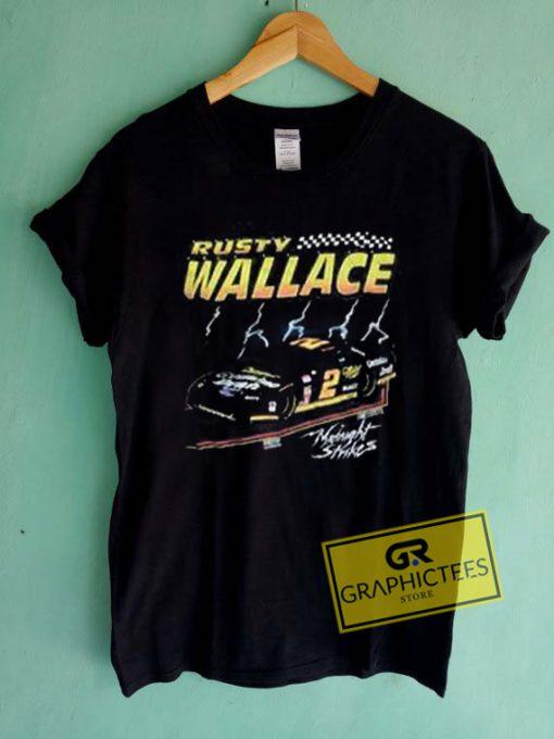 Rusty Wallace Graphic Tees Shirts