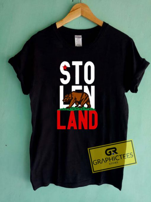 Stolen Land Graphic Tees Shirts