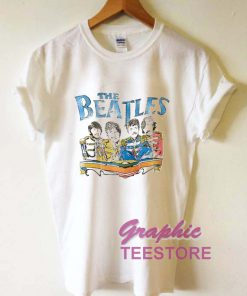 The Beatles Vintage Graphic Tee Shirts