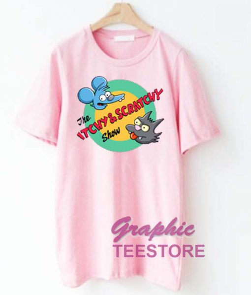 The Itchy and Scratchy Graphic Tee Shirts