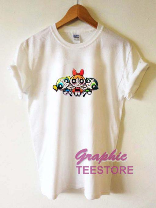 The Powerpuff Girls Graphic Tee Shirts