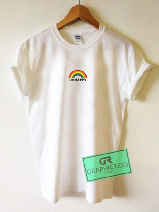 Unhappy Rainbow Graphic Tees Shirts