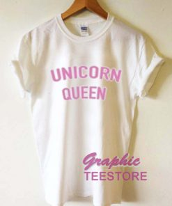 Unicorn Queen Graphic Tee Shirts