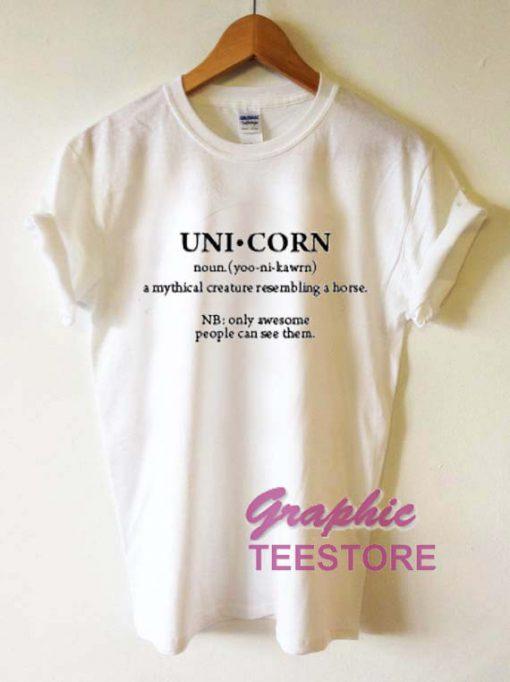 Unicorn Uni Corn Graphic Tee Shirts