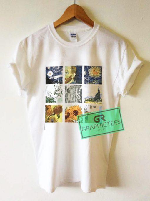 Van Gogh Graphic Tees Shirts