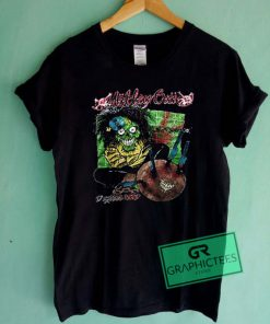 Vintage 1989 MOTLEY CRUE Dr Feelgood Graphic Tees Shirts