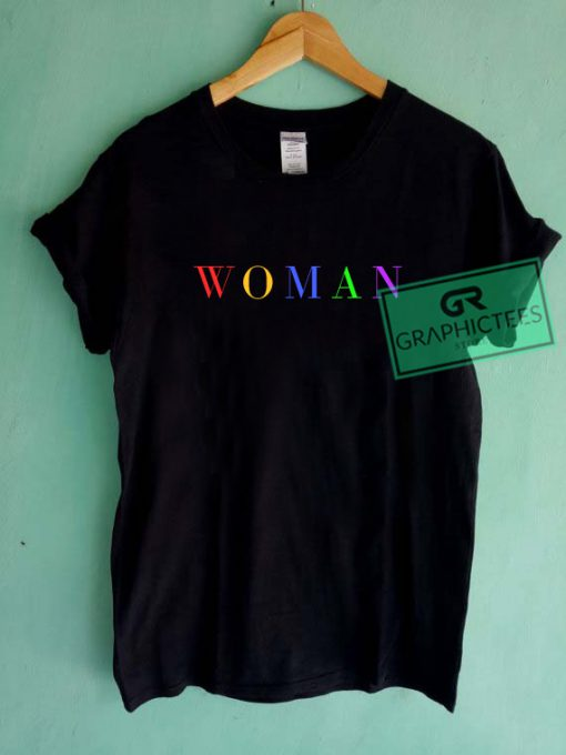 Woman Color Graphic Tees Shirts