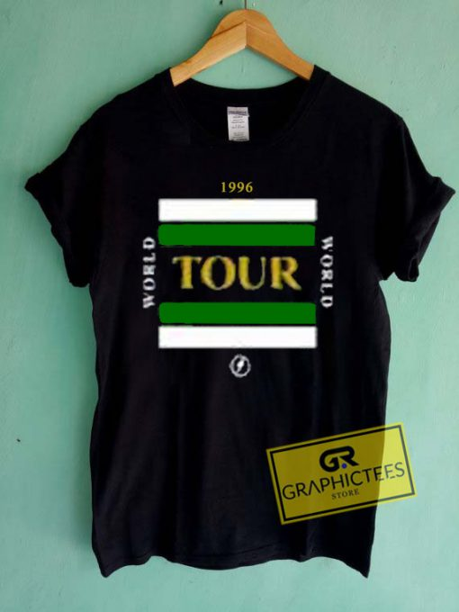 World Tour 1996 Graphic Tees Shirts