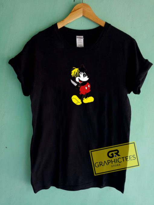Xxxtentacion Mickey Mouse Graphic Tees Shirts