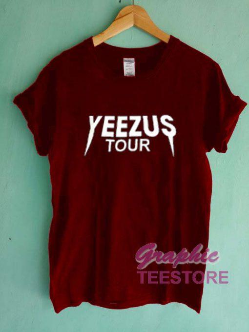 Yeezus Tour Graphic Tee Shirts