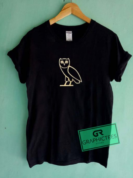 octobers very own owl Graphic Tees Shirts