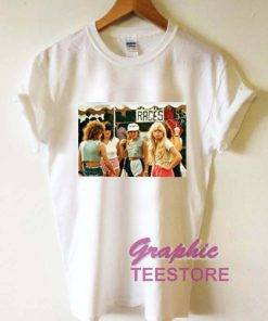 1980s Fashion For Teenager Girls Graphic Tee Shirts