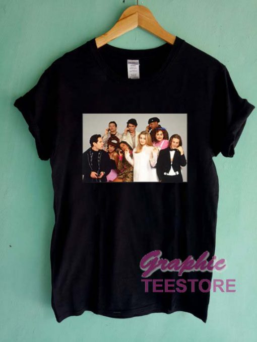 Clueless Than And Now Graphic Tee Shirts