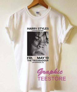 Harry Styles In Concert Graphic Tee Shirts