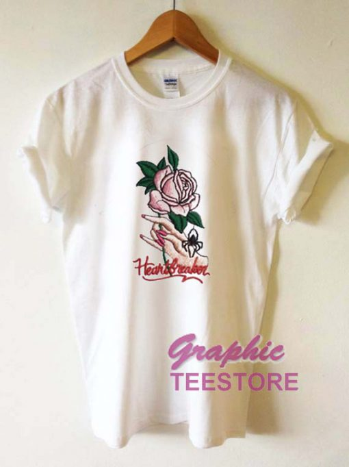 Heartbreaker Rose Graphic Tee Shirts