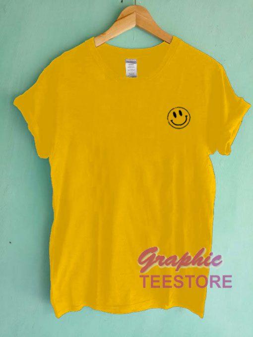 Smile Emot Graphic Tee Shirts
