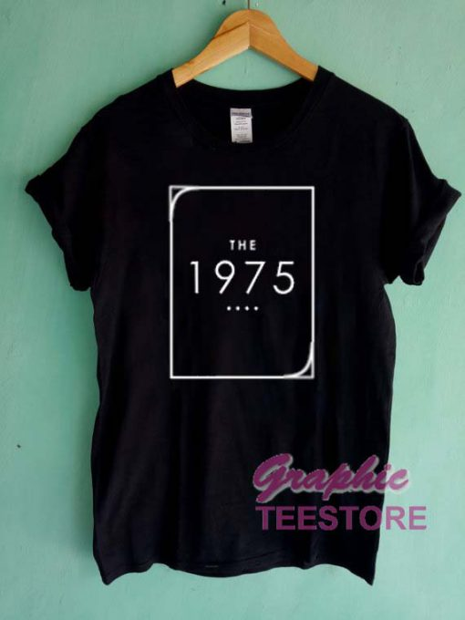 The 1975 Logo New Graphic Tee Shirts