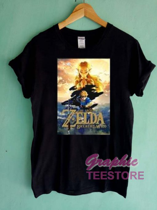 The Legend Of Zelda Breath Of The Wild Graphic Tee Shirts