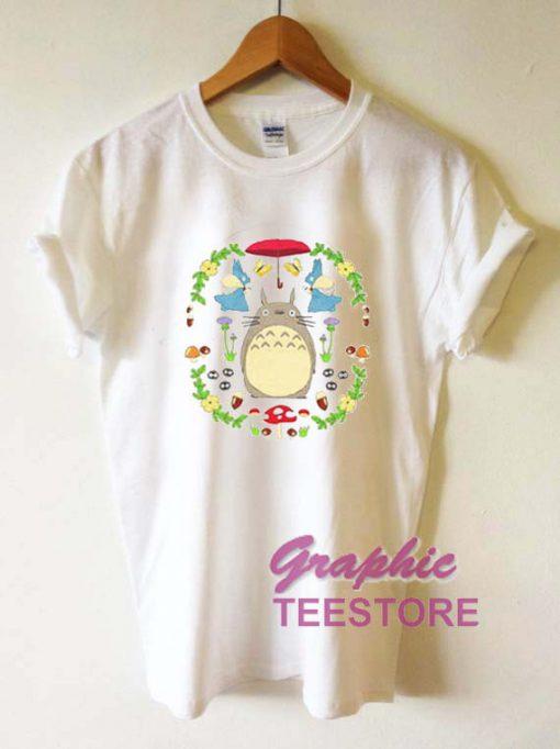 Tototro Art Graphic Tee Shirts