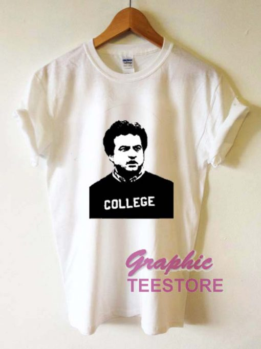 College Graphic Tee Shirts