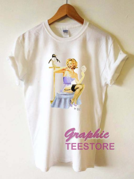 Penguin Vintage Graphic Tee Shirts