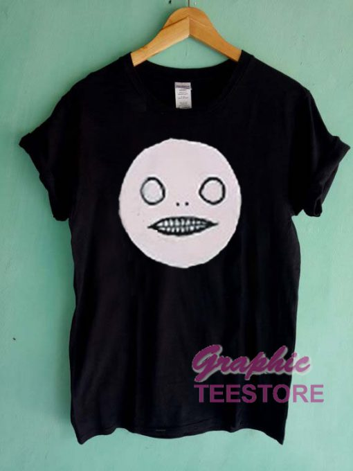 Scary Face Halloween Graphic Tee Shirts