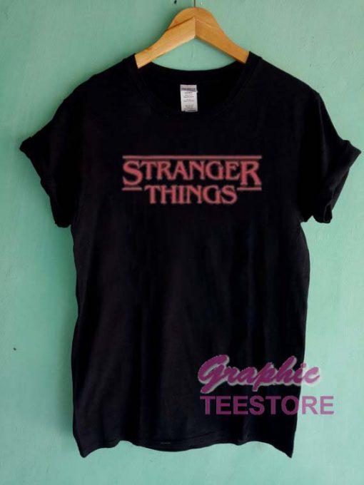 Stranger Things New Graphic Tee Shirts
