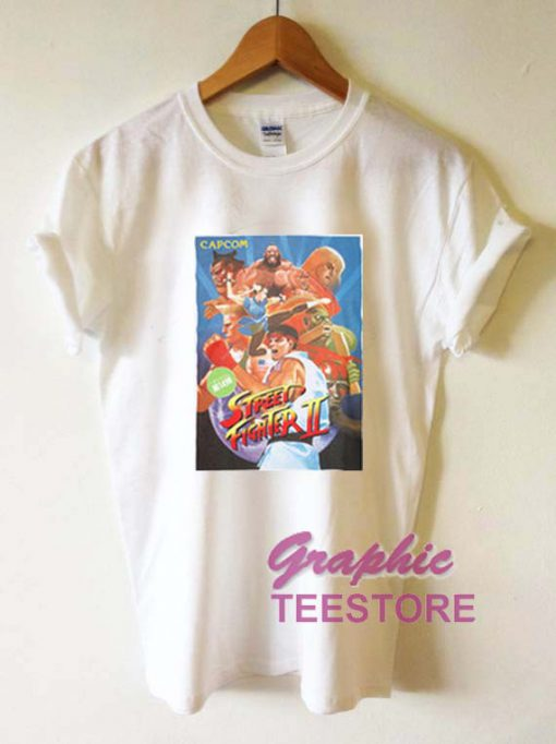 Street Fighter Capcom Graphic Tee Shirts