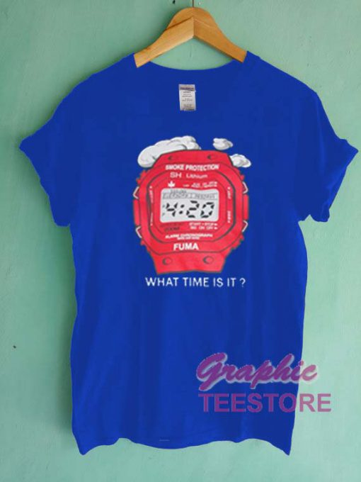 What Time Is It Graphic Tee Shirts